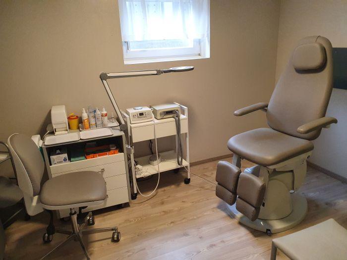 bilder der praxis medizinische fu pflege podologische. Black Bedroom Furniture Sets. Home Design Ideas